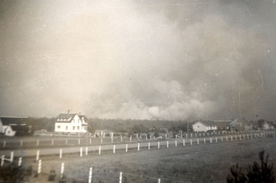 House and Store 1960 Fire