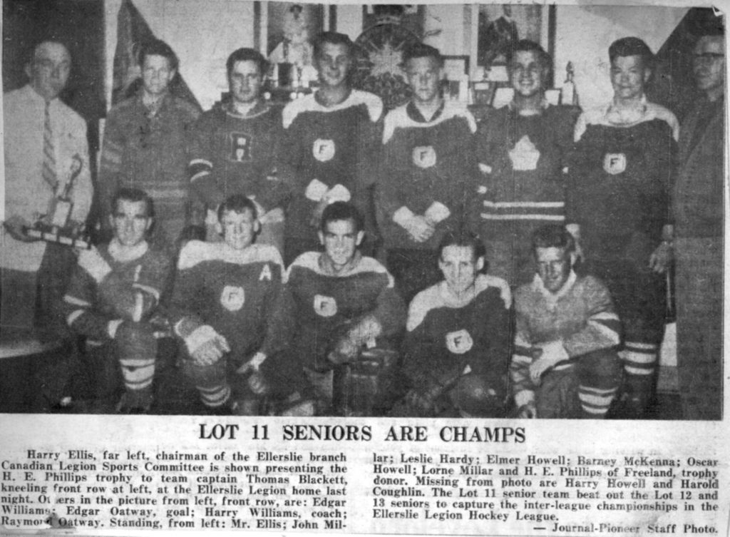 Lot 11 Seniors Are Champs 1960